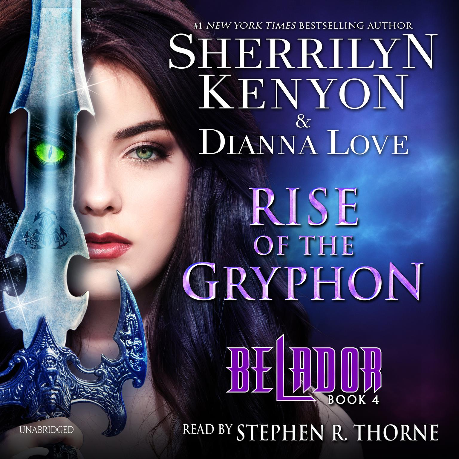 Printable Rise of the Gryphon Audiobook Cover Art