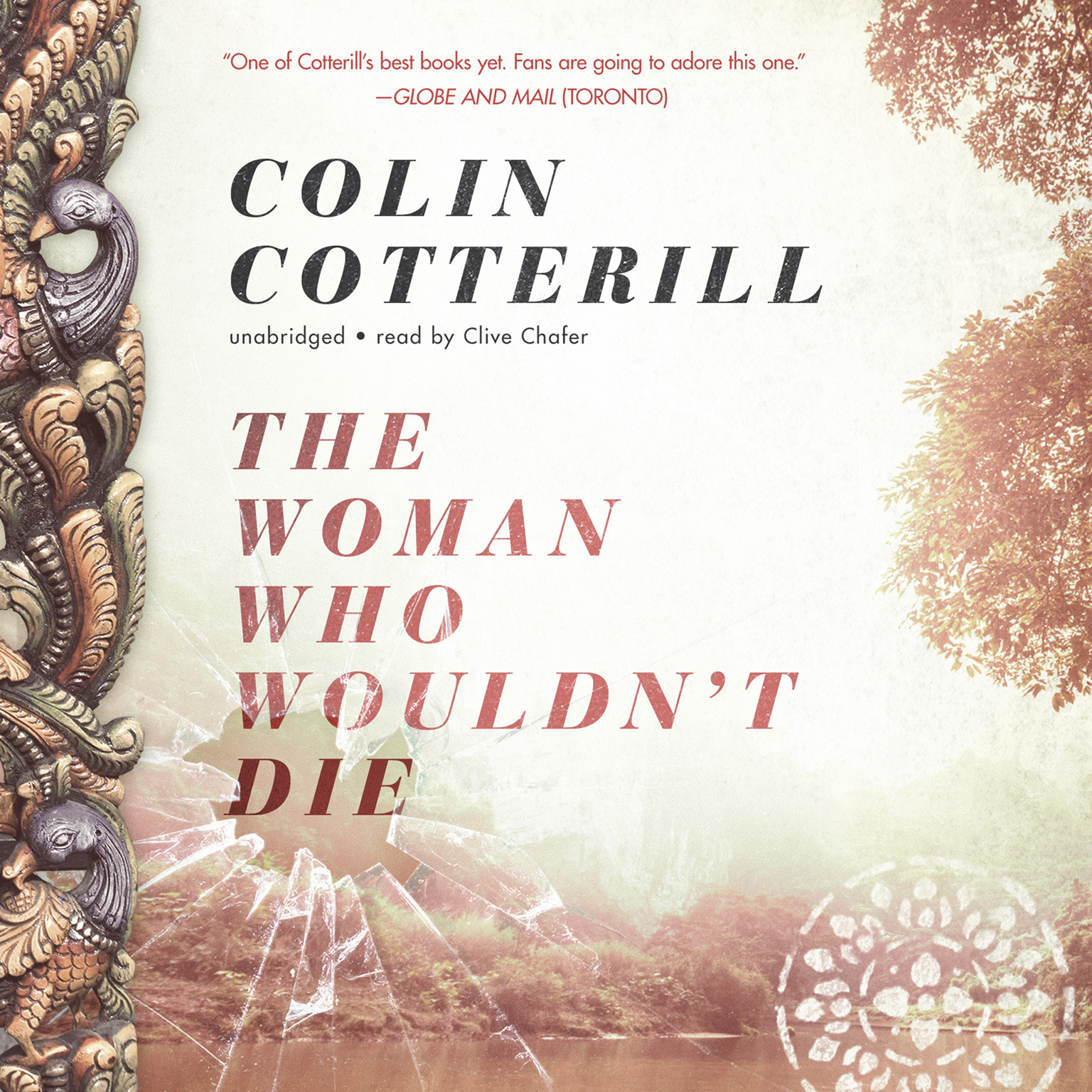 Printable The Woman Who Wouldn't Die Audiobook Cover Art