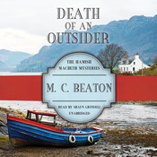 Death of an Outsider, by M. C. Beaton