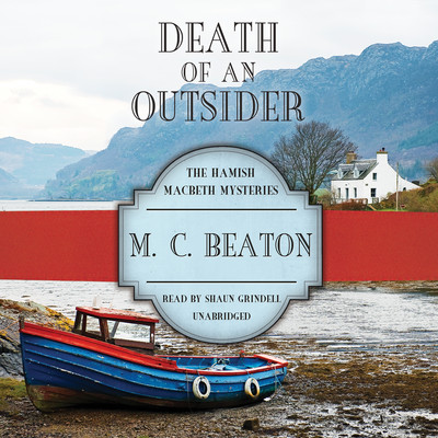 Death of an Outsider Audiobook, by M. C. Beaton