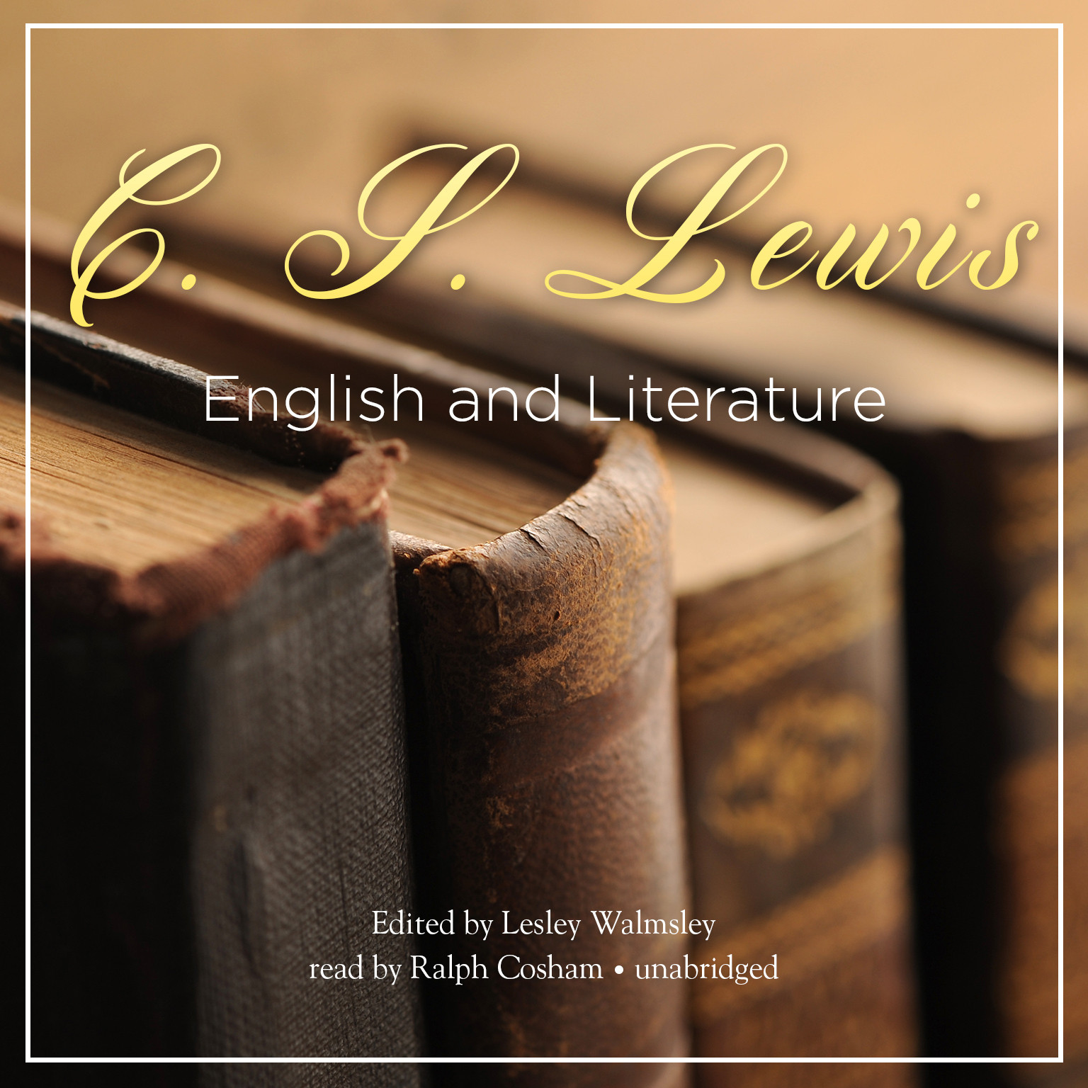 Printable English and Literature Audiobook Cover Art