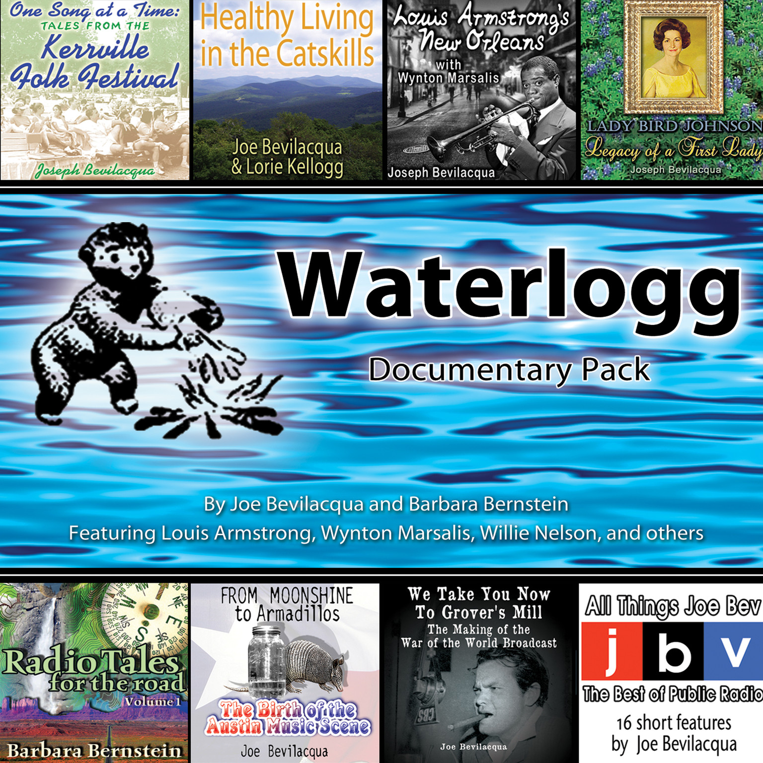 Printable Waterlogg Documentary Pack Audiobook Cover Art