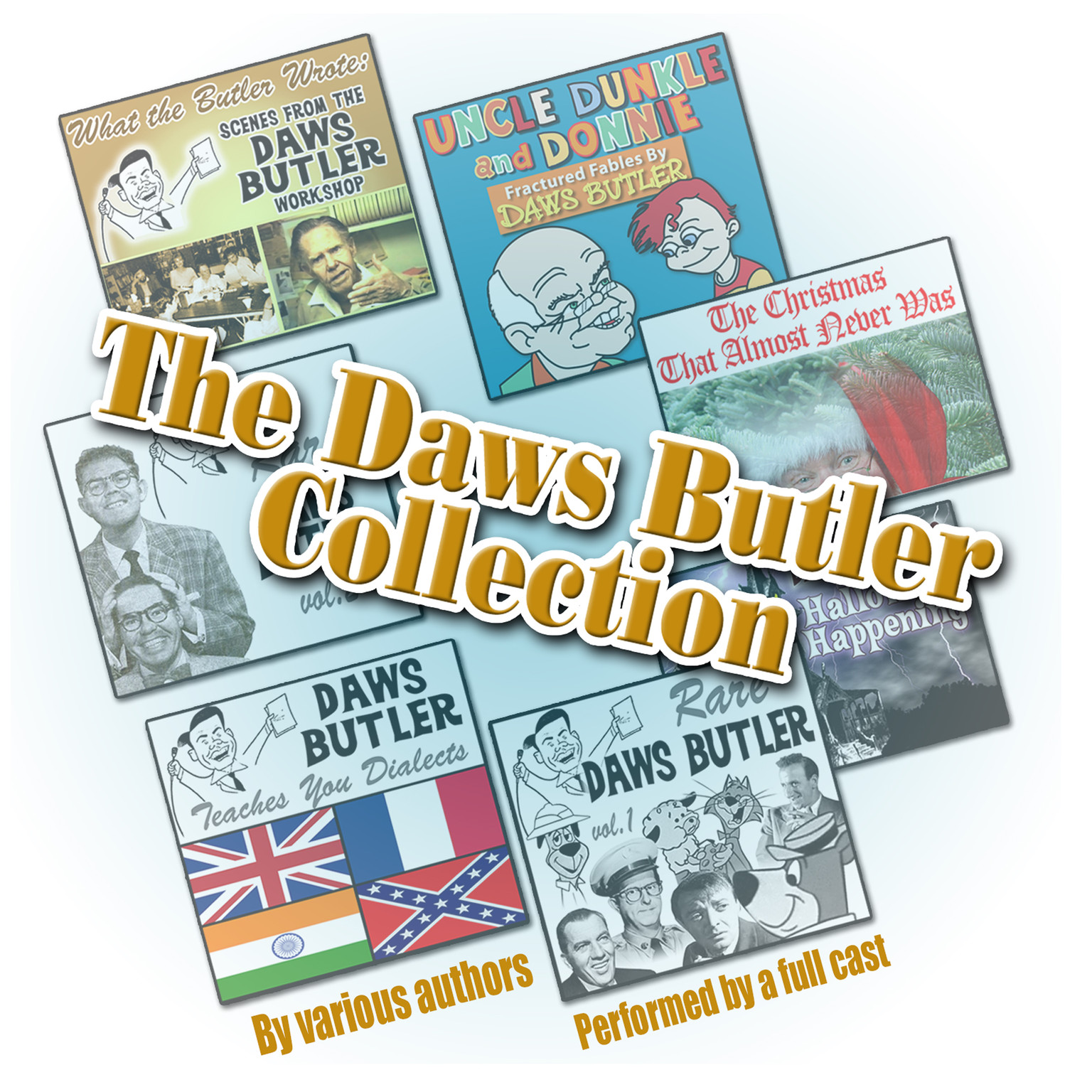 Printable The Daws Butler Collection Audiobook Cover Art