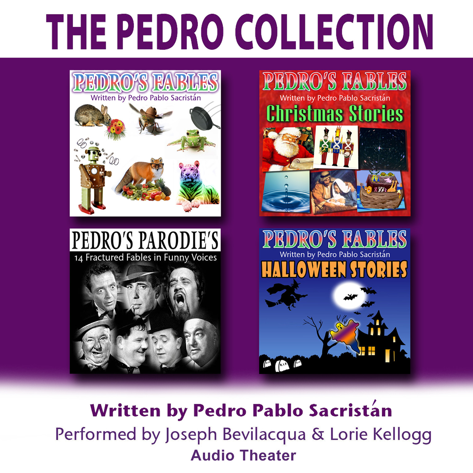 Printable The Pedro Collection Audiobook Cover Art