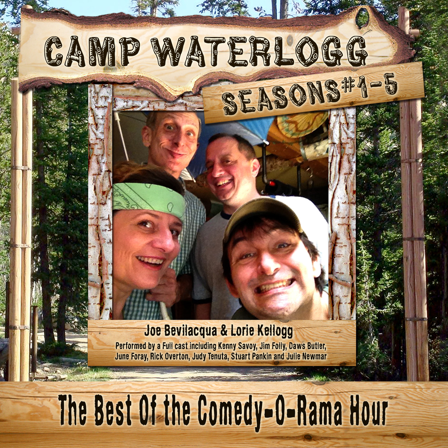 Printable Camp Waterlogg Chronicles, Seasons 1–5 Audiobook Cover Art