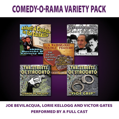 Comedy-O-Rama Variety Pack Audiobook, by Author Info Added Soon