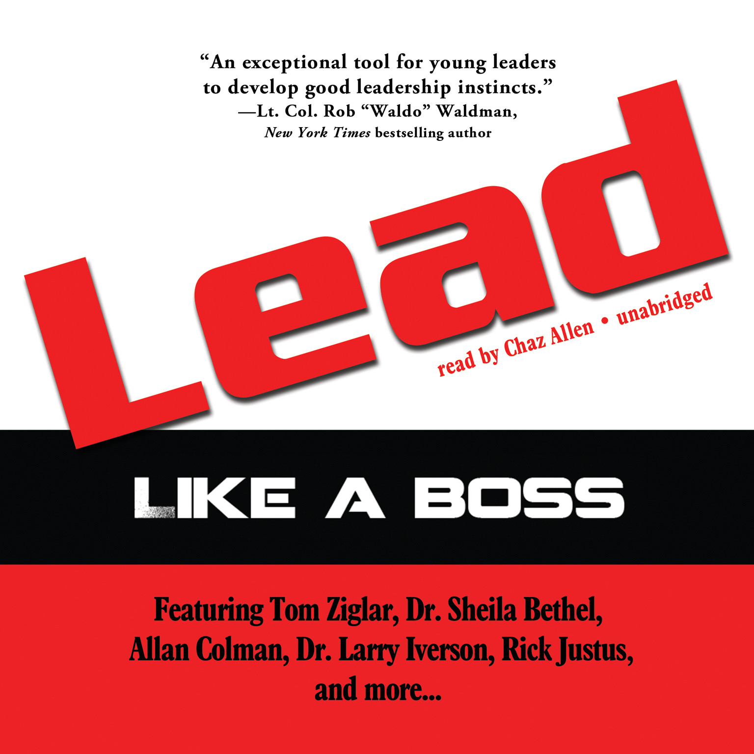 Printable Lead like a Boss Audiobook Cover Art