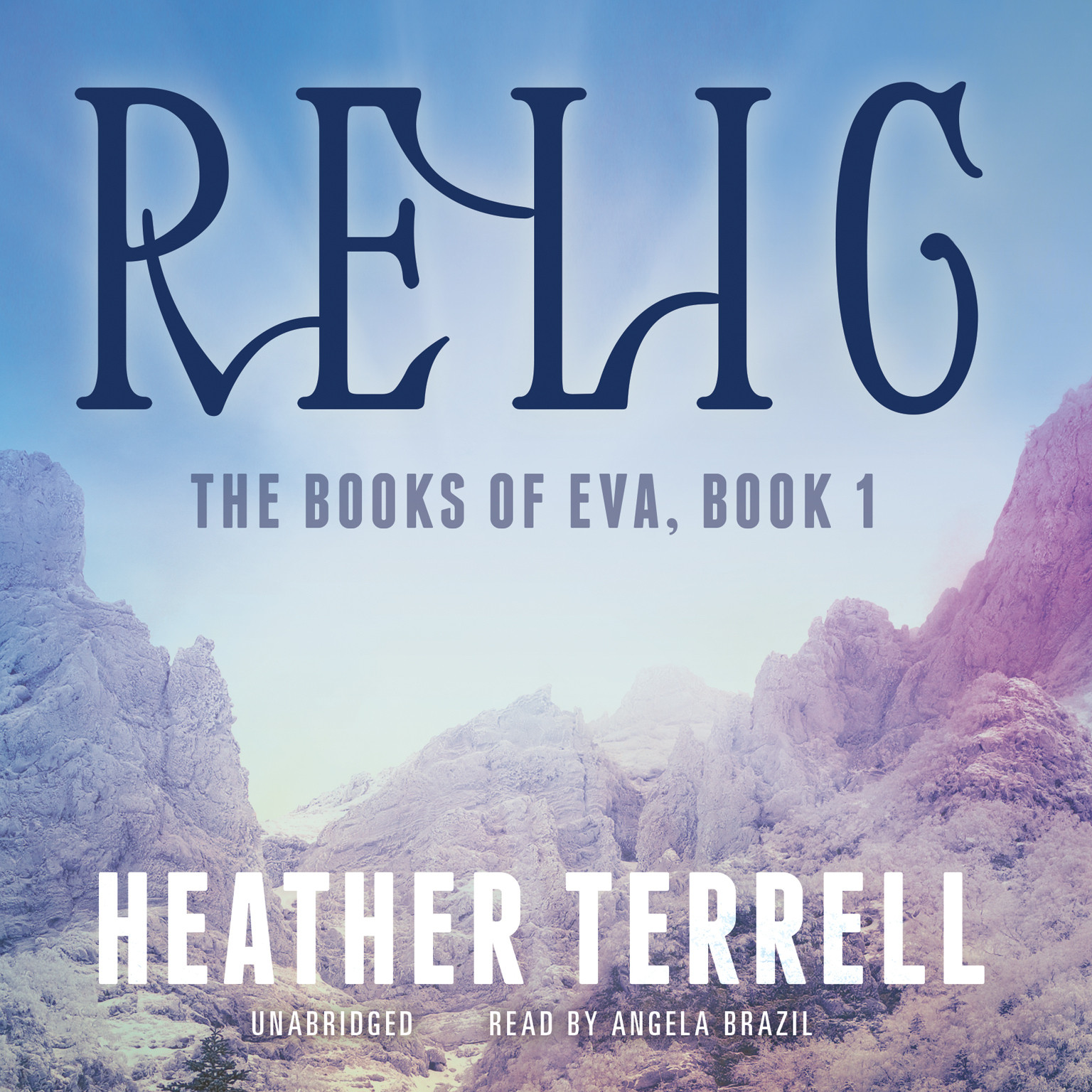 Printable Relic Audiobook Cover Art