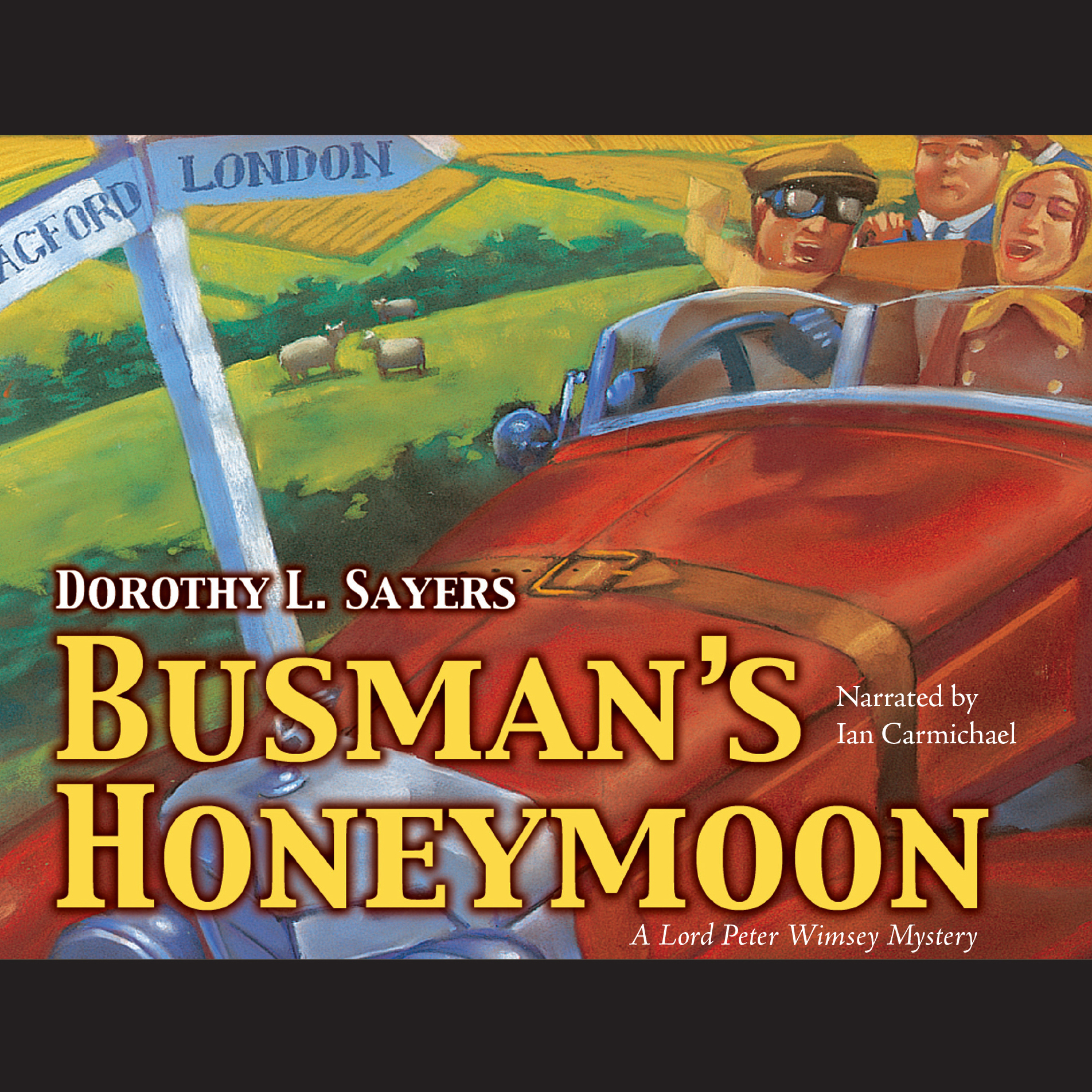Printable Busman's Honeymoon Audiobook Cover Art