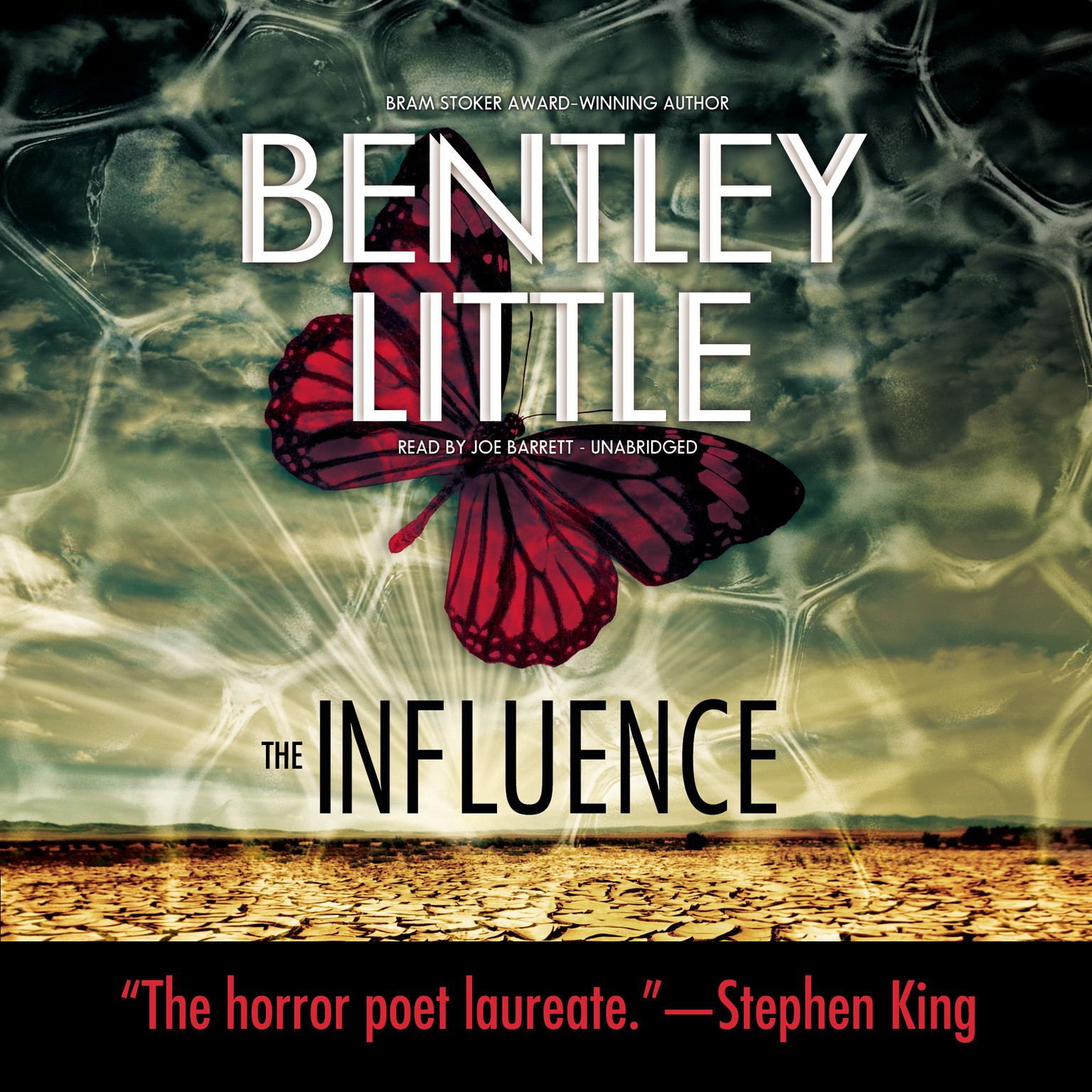 Printable The Influence Audiobook Cover Art