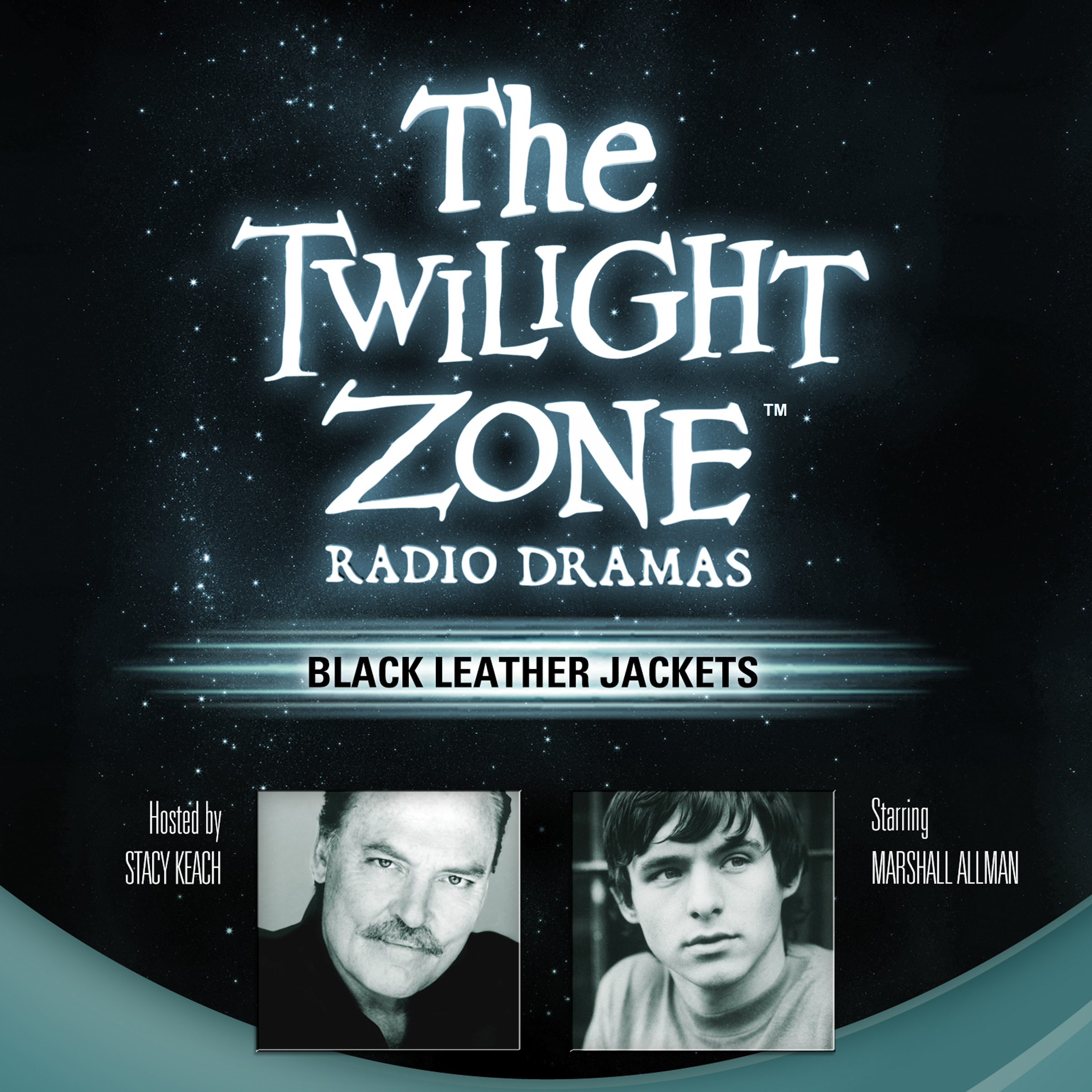 Printable Black Leather Jackets Audiobook Cover Art
