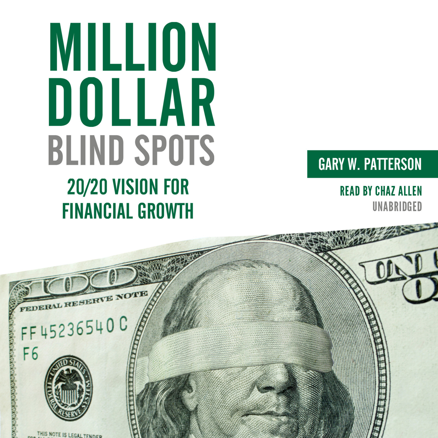 Printable Million-Dollar Blind Spots: 20/20 Vision for Financial Growth Audiobook Cover Art
