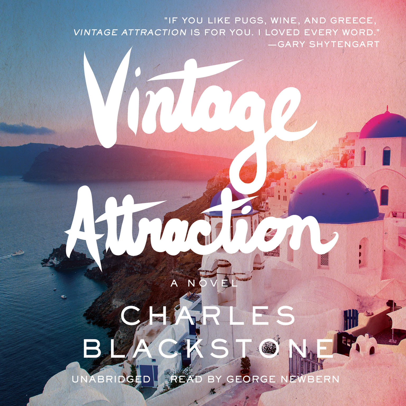 Printable Vintage Attraction Audiobook Cover Art