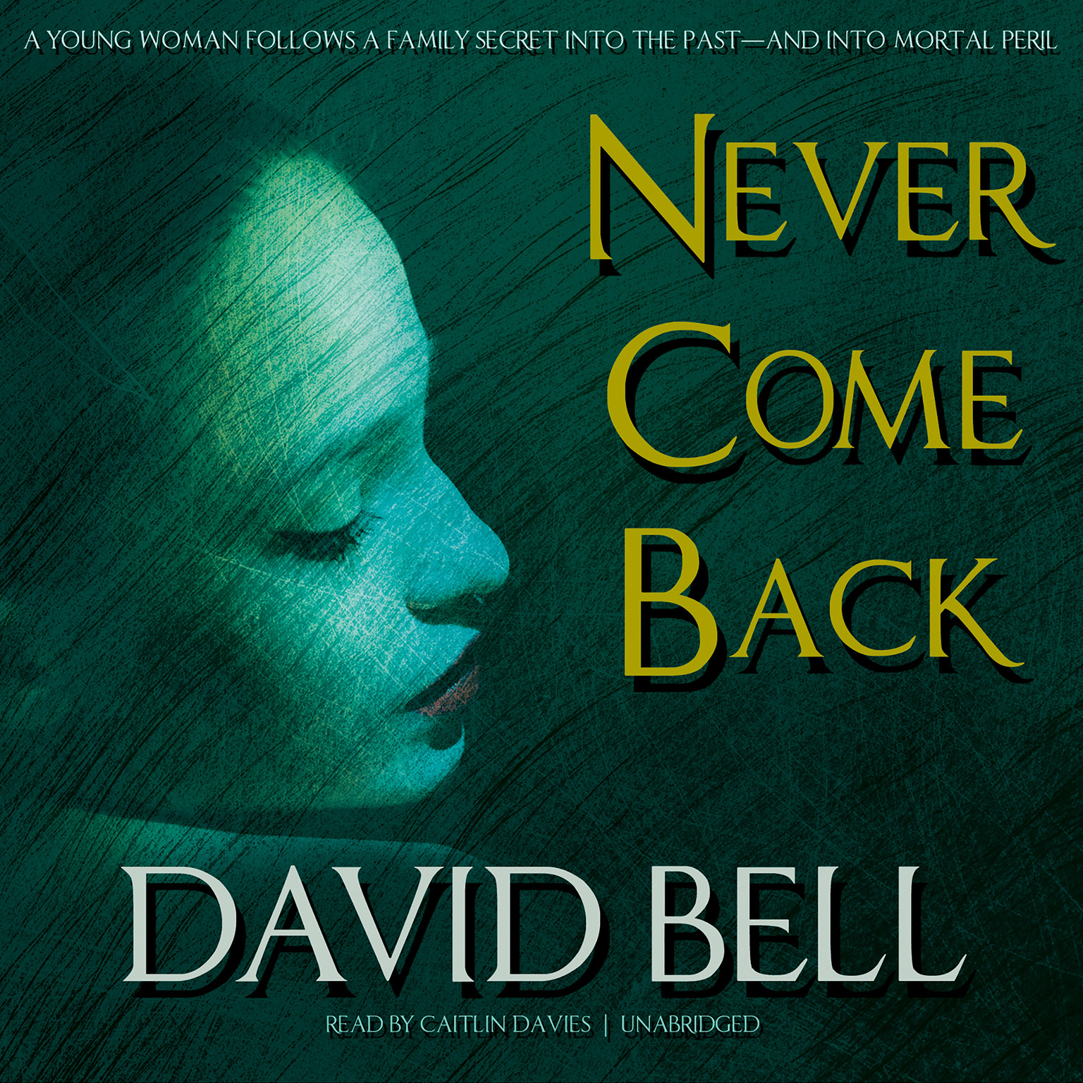 Printable Never Come Back Audiobook Cover Art