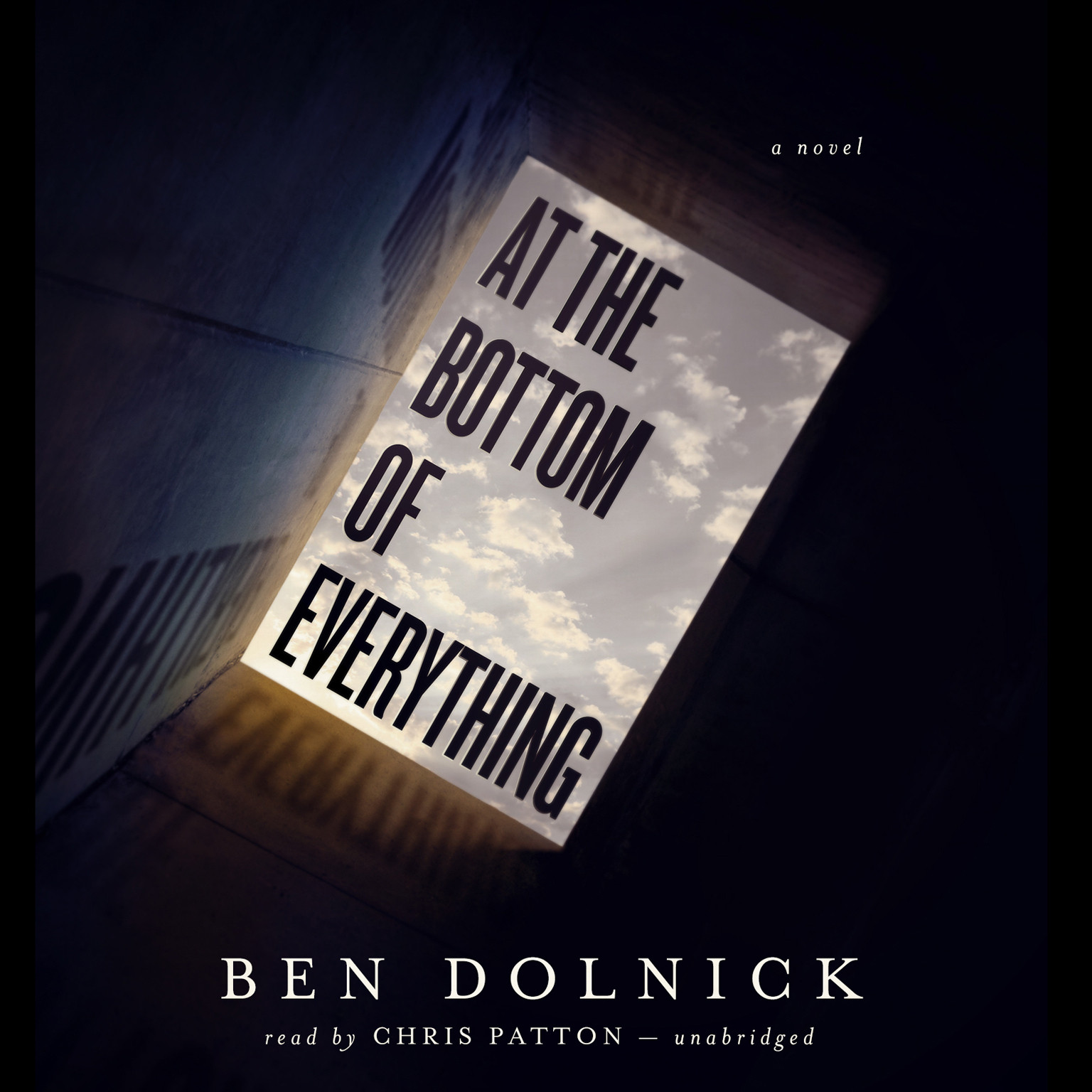 Printable At the Bottom of Everything Audiobook Cover Art