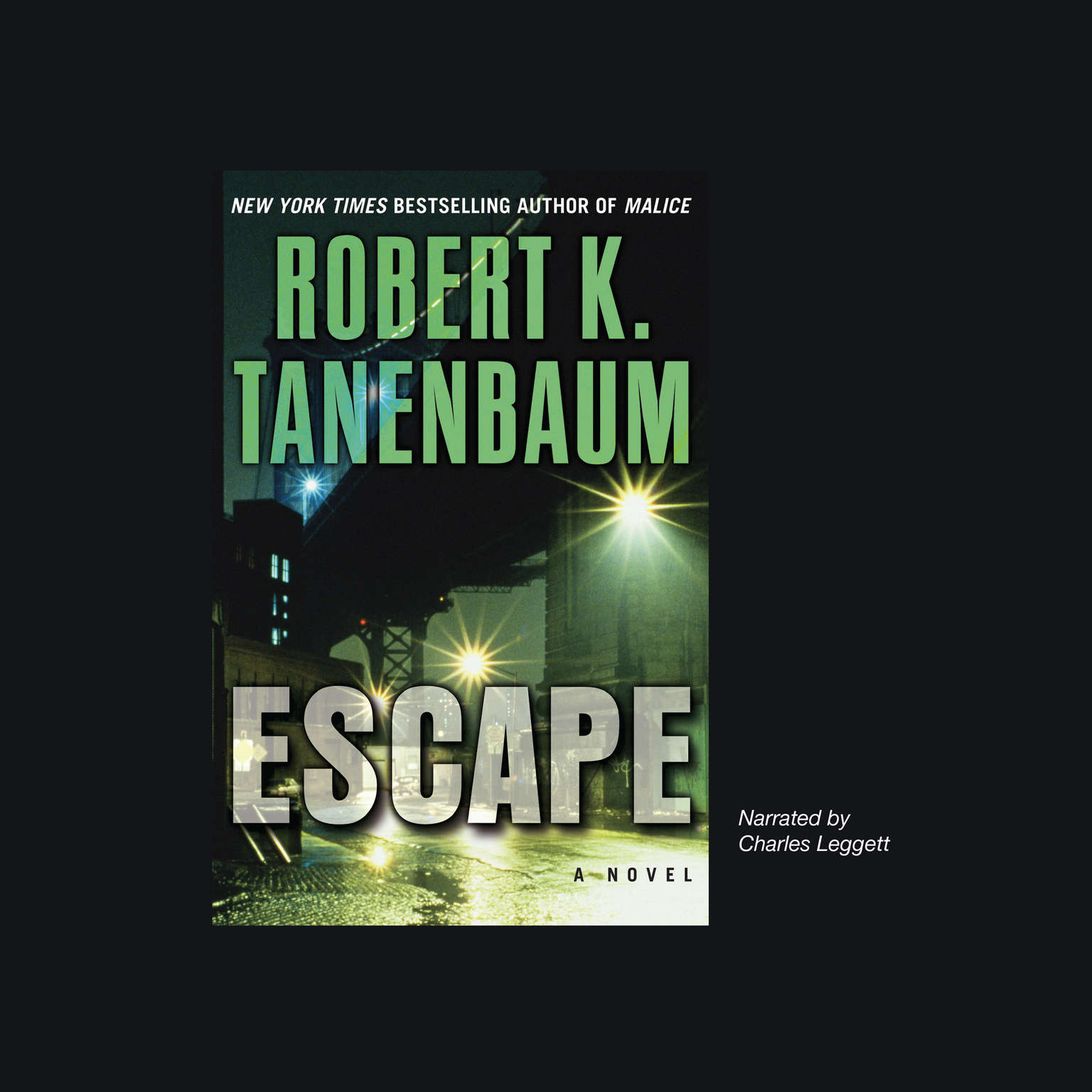 Printable Escape Audiobook Cover Art