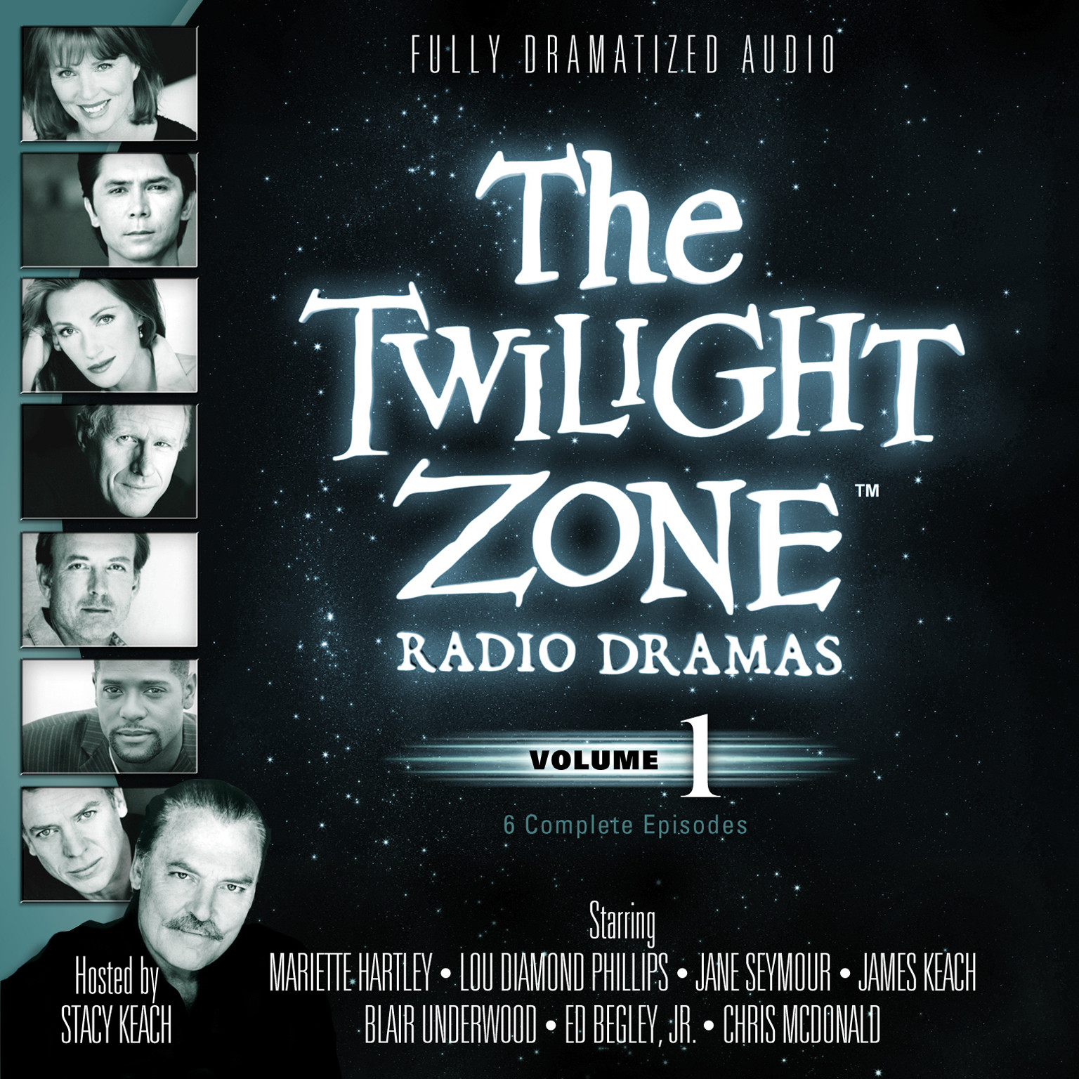 Printable The Twilight Zone Radio Dramas, Vol. 1 Audiobook Cover Art