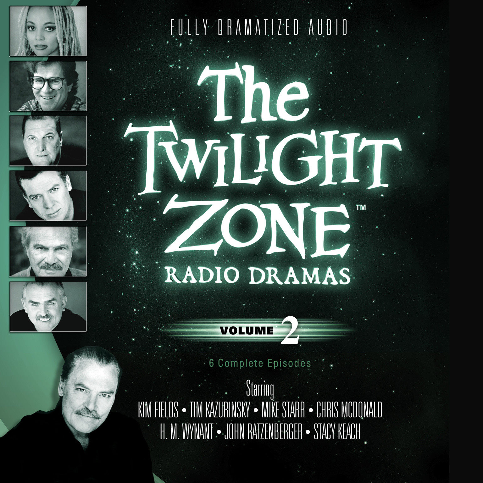Printable The Twilight Zone Radio Dramas, Vol. 2 Audiobook Cover Art