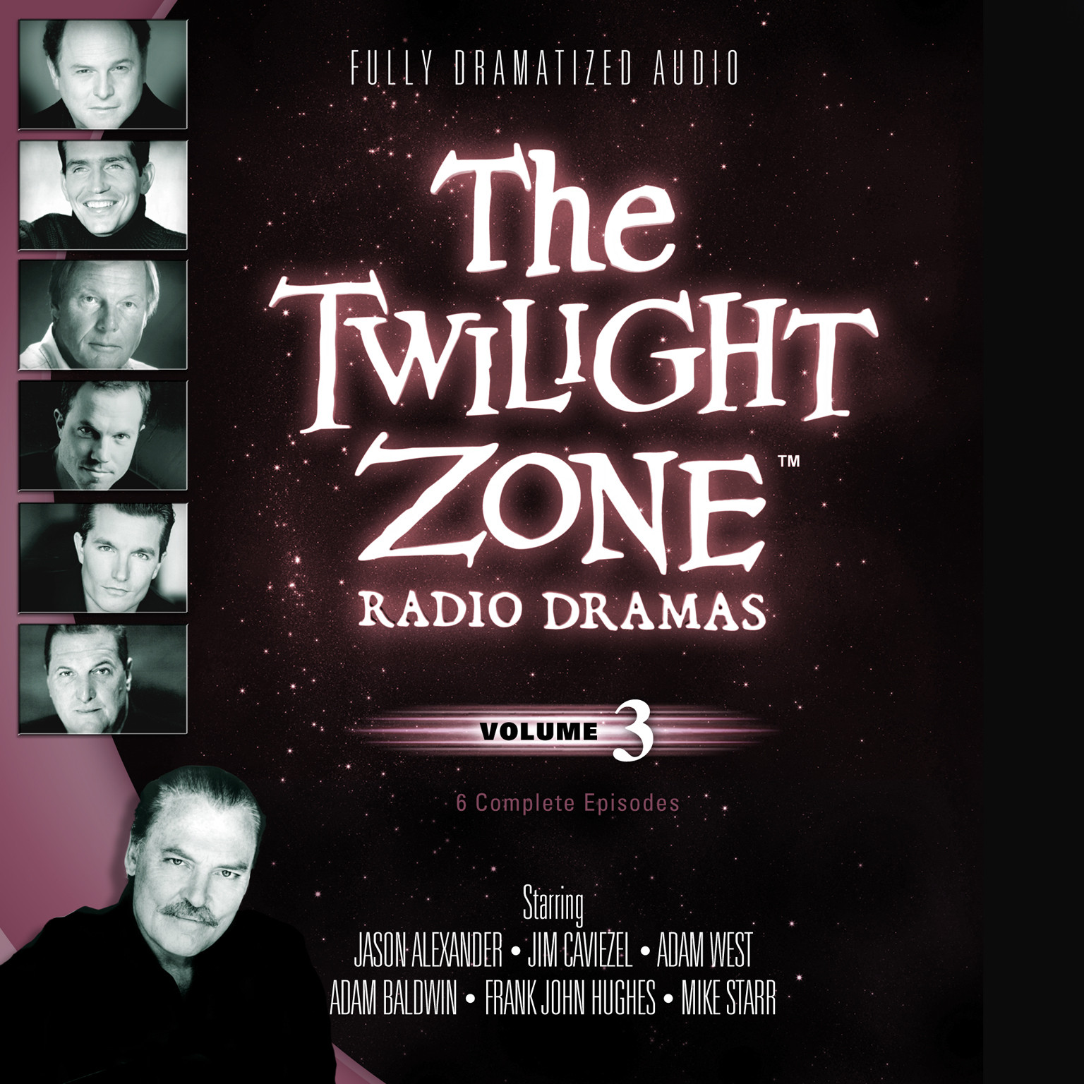Printable The Twilight Zone Radio Dramas, Vol. 3 Audiobook Cover Art