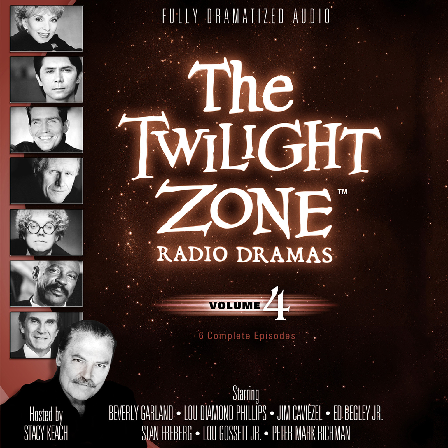 Printable The Twilight Zone Radio Dramas, Vol. 4 Audiobook Cover Art