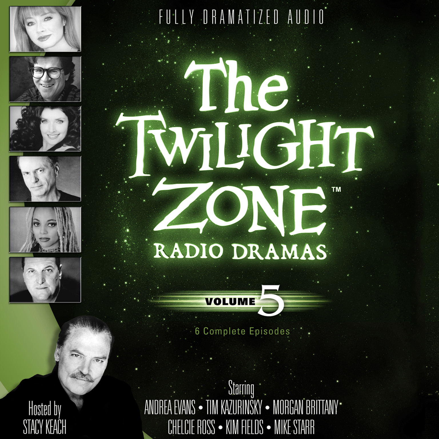 Printable The Twilight Zone Radio Dramas, Vol. 5 Audiobook Cover Art