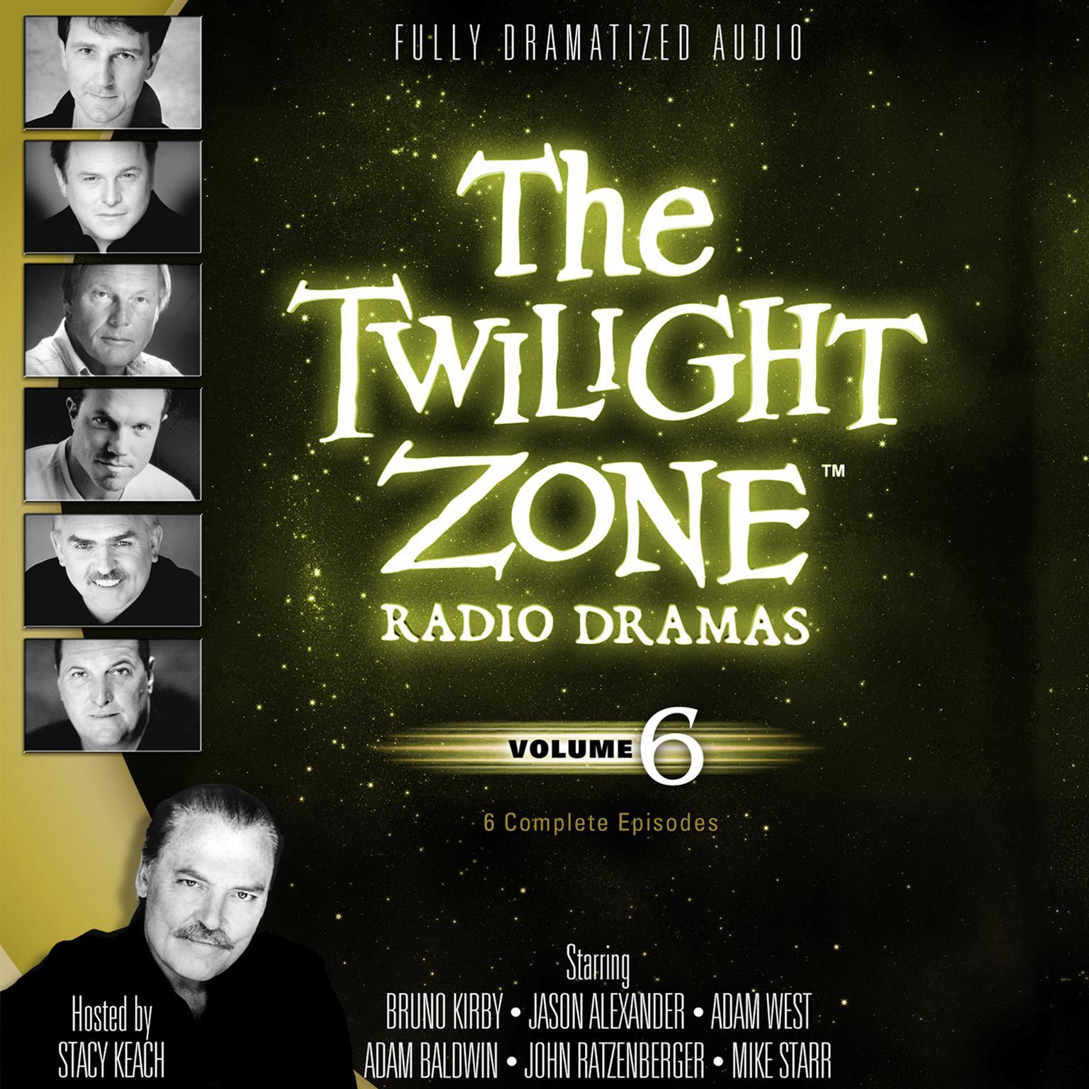 Printable The Twilight Zone Radio Dramas, Vol. 6 Audiobook Cover Art