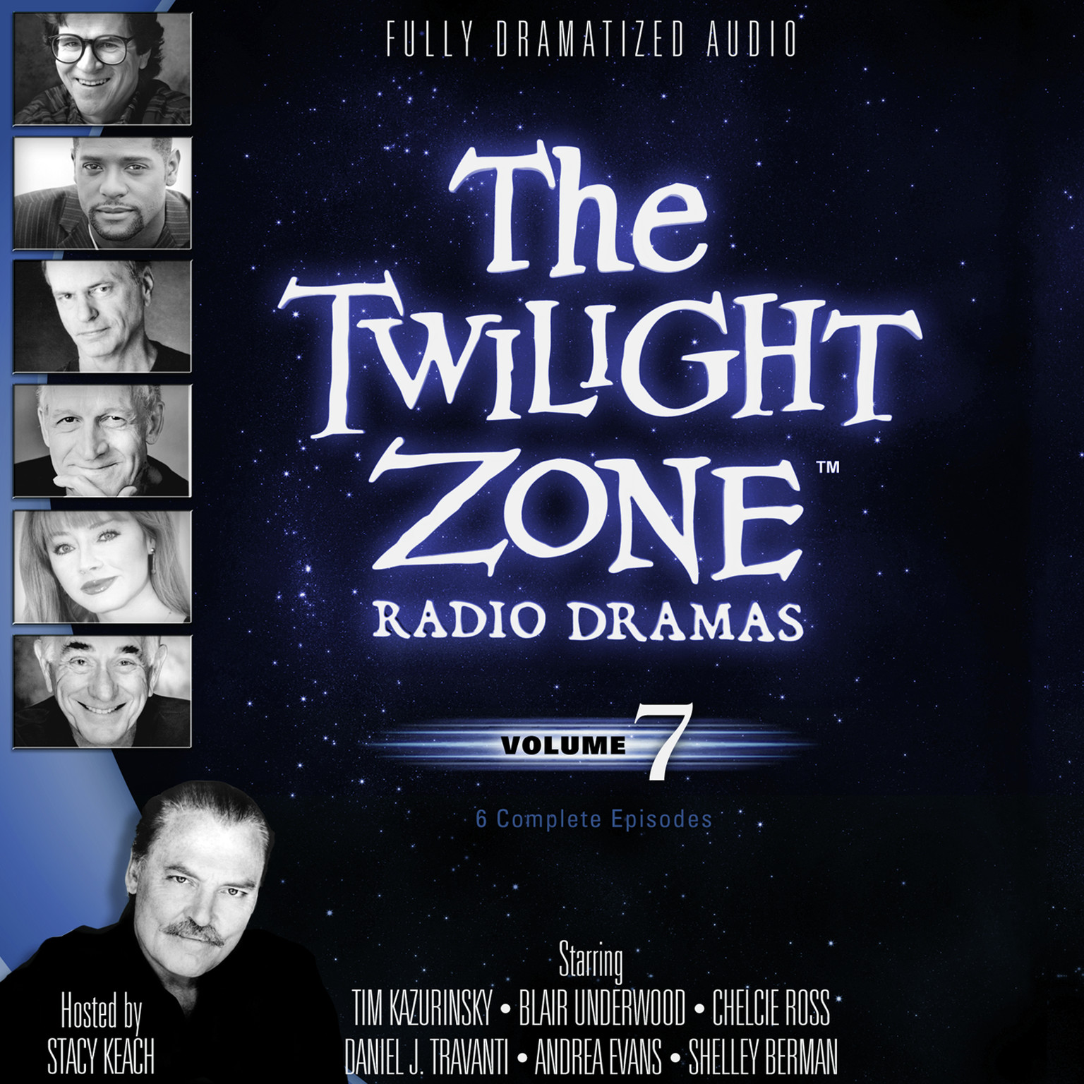 Printable The Twilight Zone Radio Dramas, Vol. 7 Audiobook Cover Art