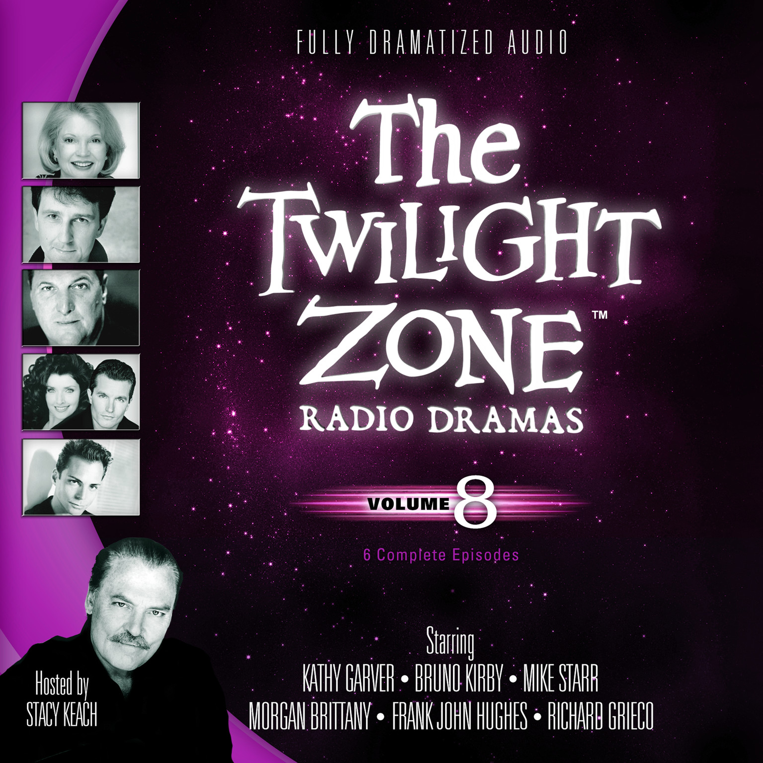 Printable The Twilight Zone Radio Dramas, Vol. 8 Audiobook Cover Art
