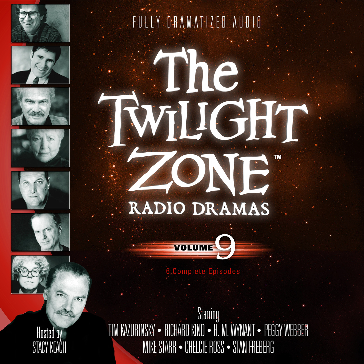 Printable The Twilight Zone Radio Dramas, Vol. 9 Audiobook Cover Art
