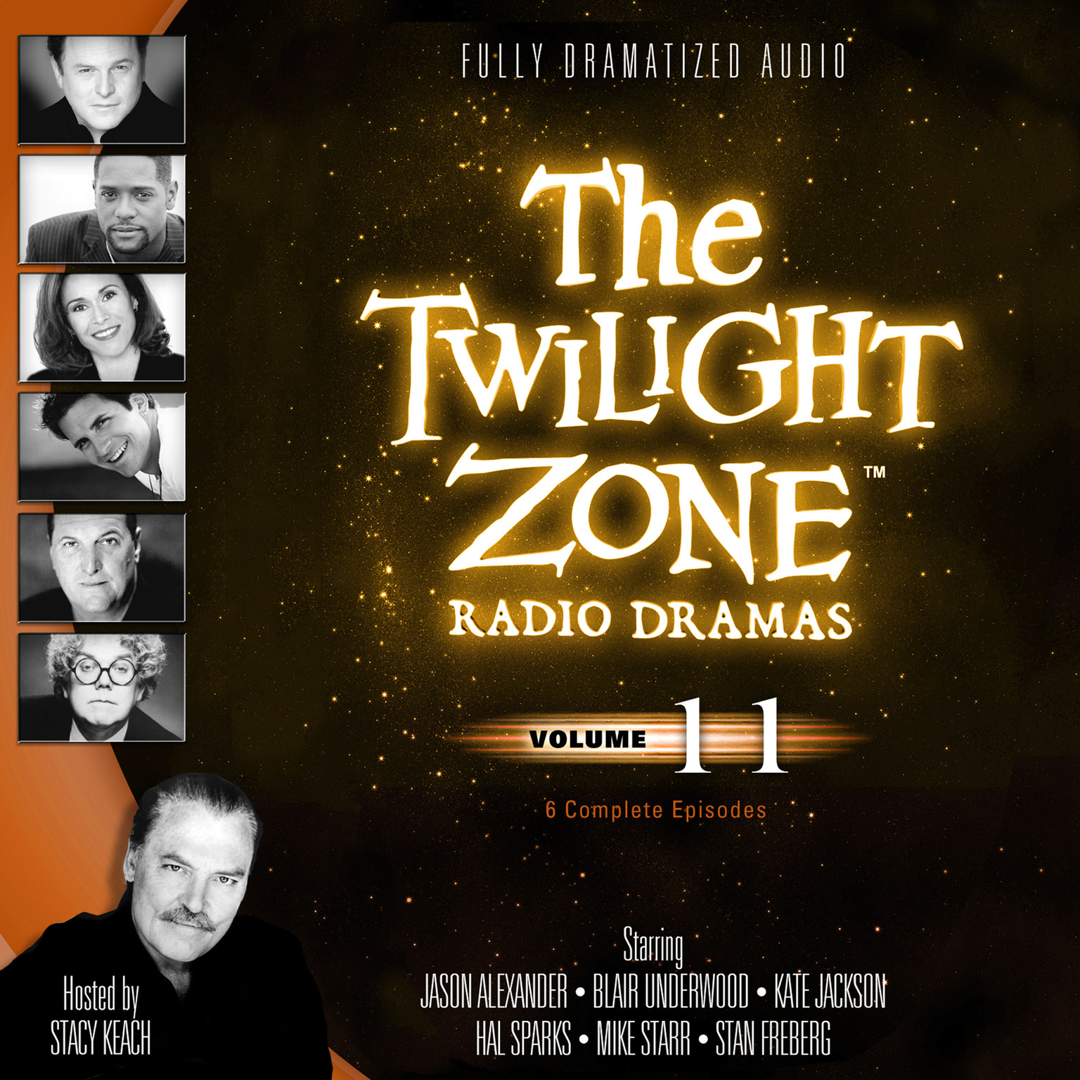 Printable The Twilight Zone Radio Dramas, Vol. 11 Audiobook Cover Art