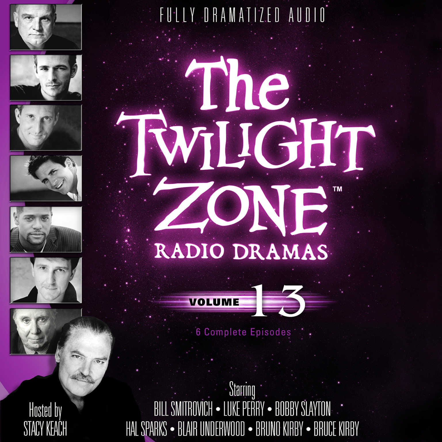 Printable The Twilight Zone Radio Dramas, Vol. 13 Audiobook Cover Art