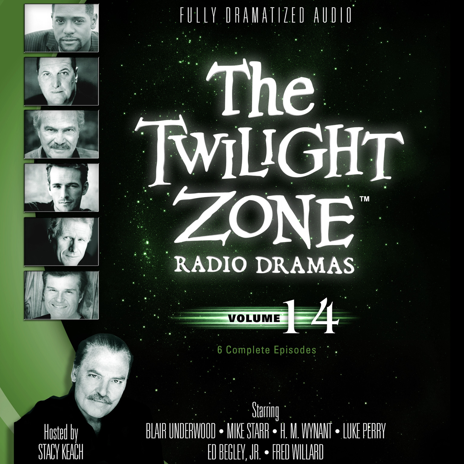Printable The Twilight Zone Radio Dramas, Vol. 14 Audiobook Cover Art