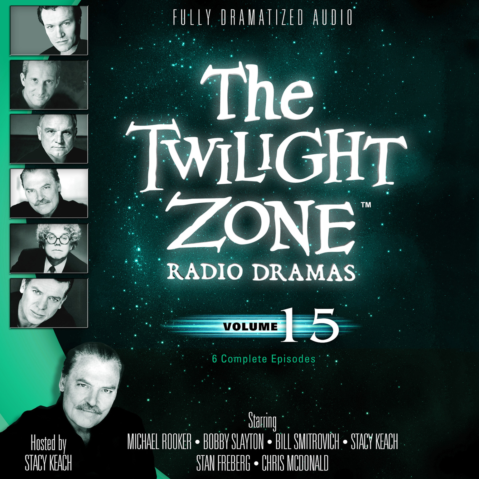 Printable The Twilight Zone Radio Dramas, Vol. 15 Audiobook Cover Art