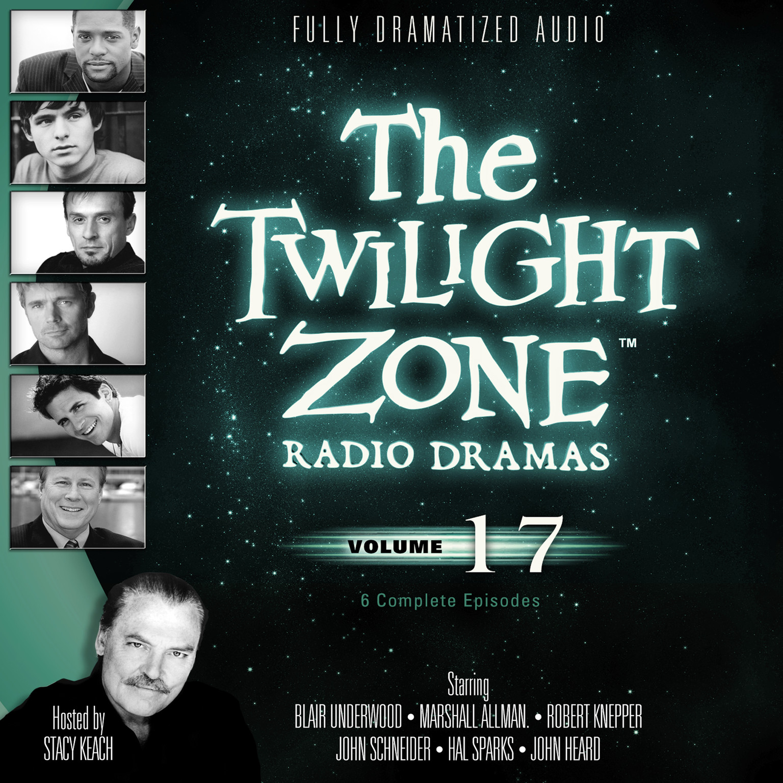 Printable The Twilight Zone Radio Dramas, Vol. 17 Audiobook Cover Art