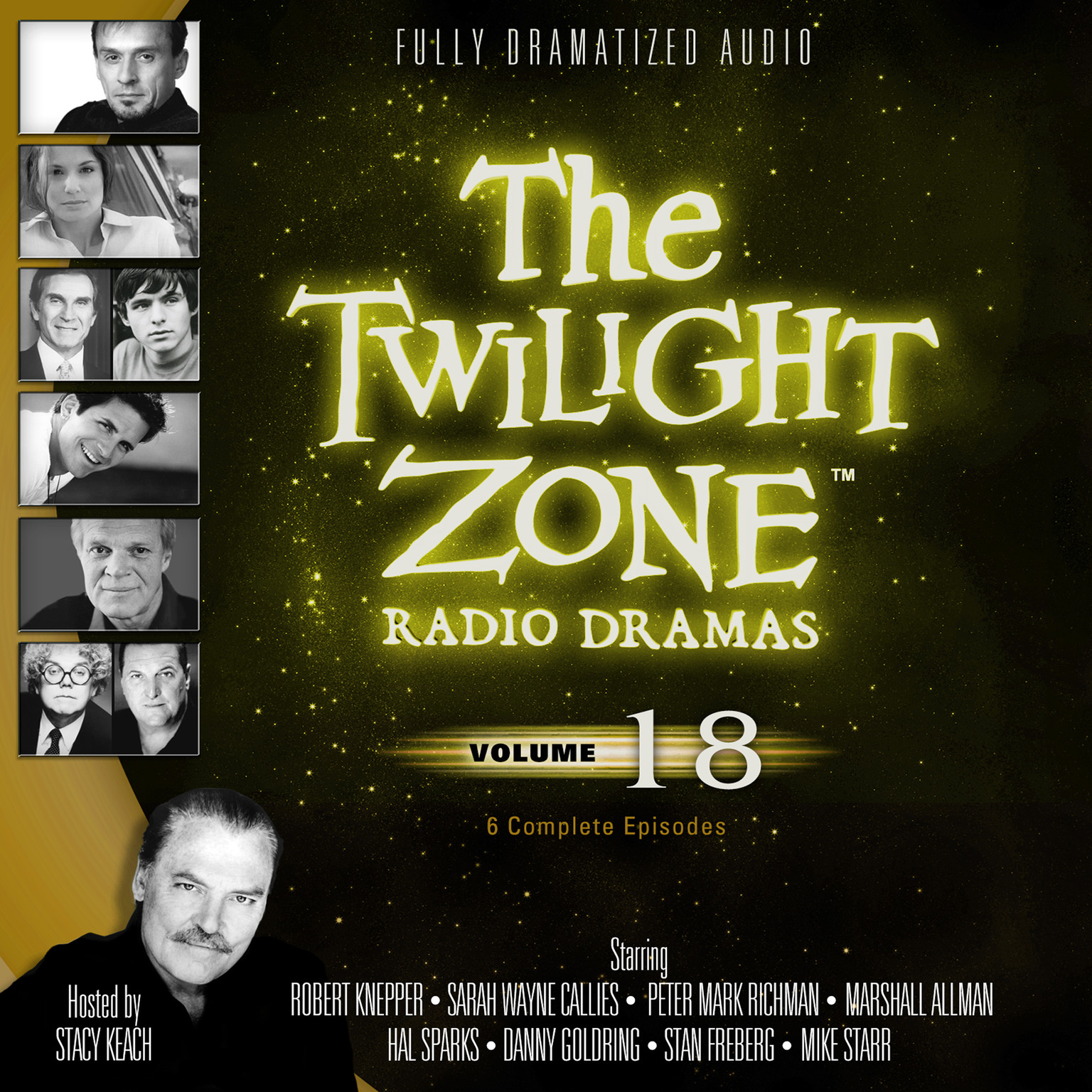 Printable The Twilight Zone Radio Dramas, Vol. 18 Audiobook Cover Art