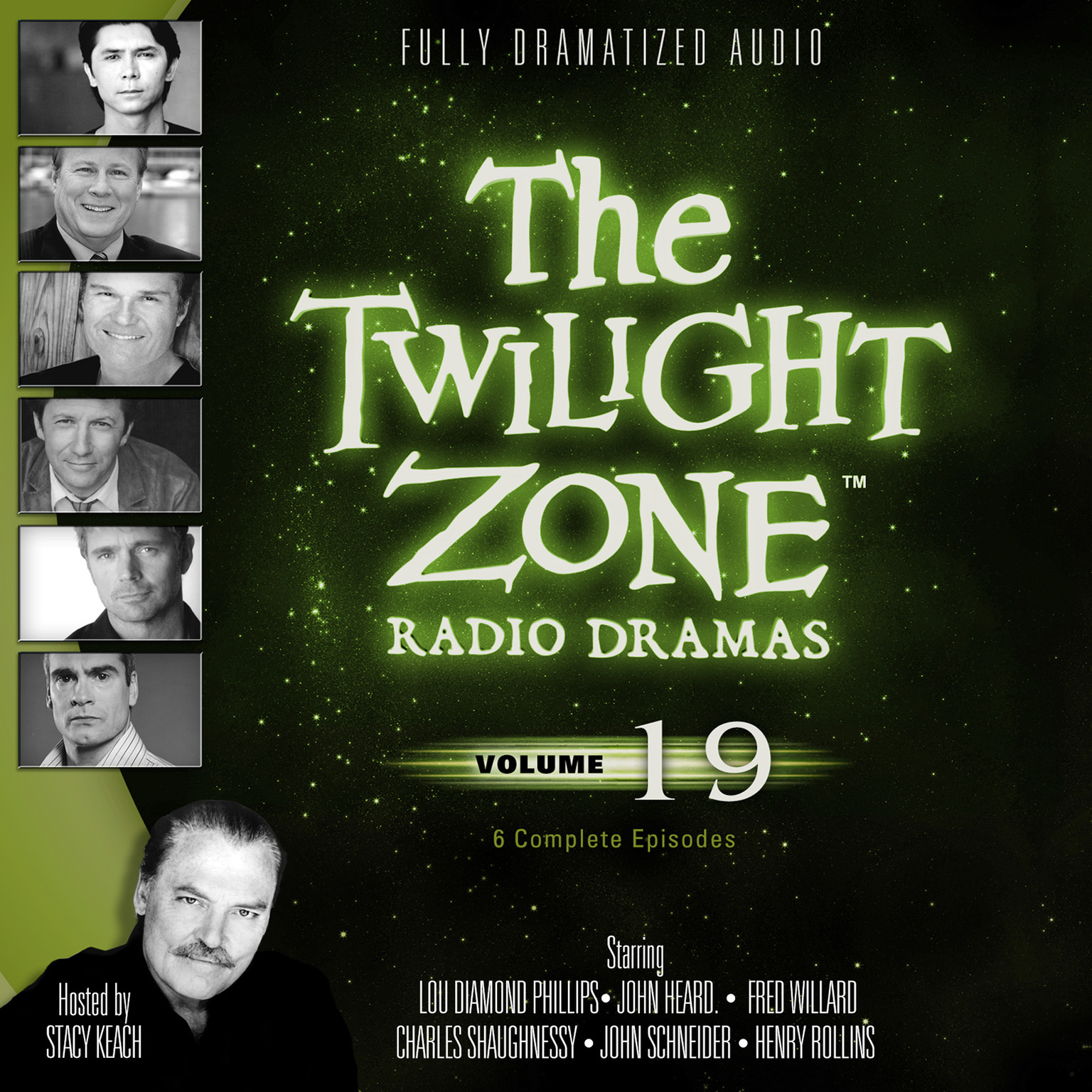 Printable The Twilight Zone Radio Dramas, Vol. 19 Audiobook Cover Art
