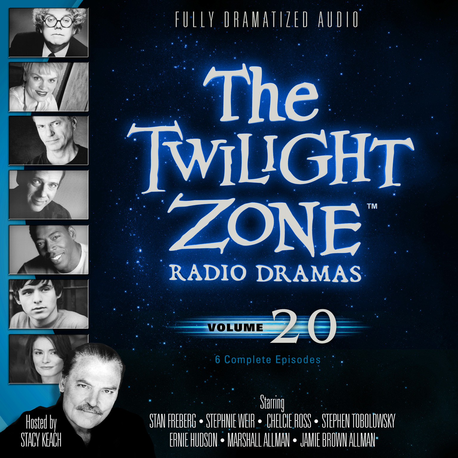 Printable The Twilight Zone Radio Dramas, Vol. 20 Audiobook Cover Art