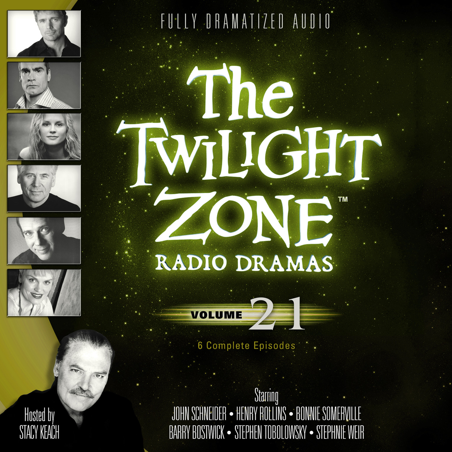 Printable The Twilight Zone Radio Dramas, Vol. 21 Audiobook Cover Art