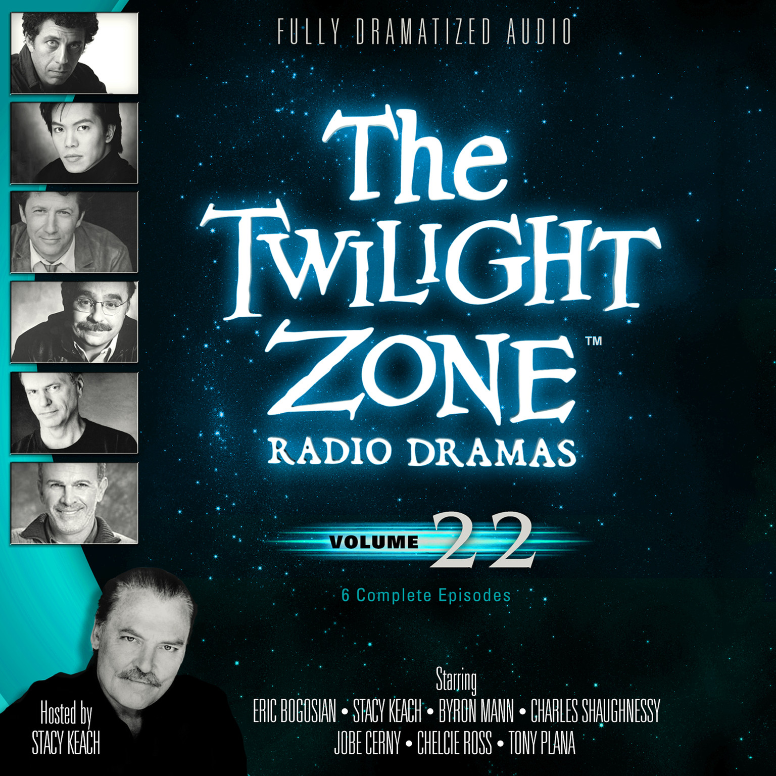 Printable The Twilight Zone Radio Dramas, Vol. 22 Audiobook Cover Art