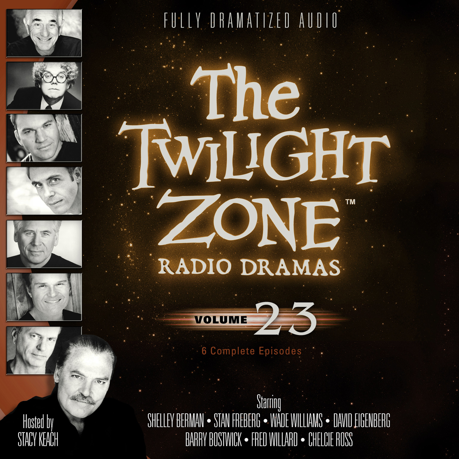 Printable The Twilight Zone Radio Dramas, Vol. 23 Audiobook Cover Art