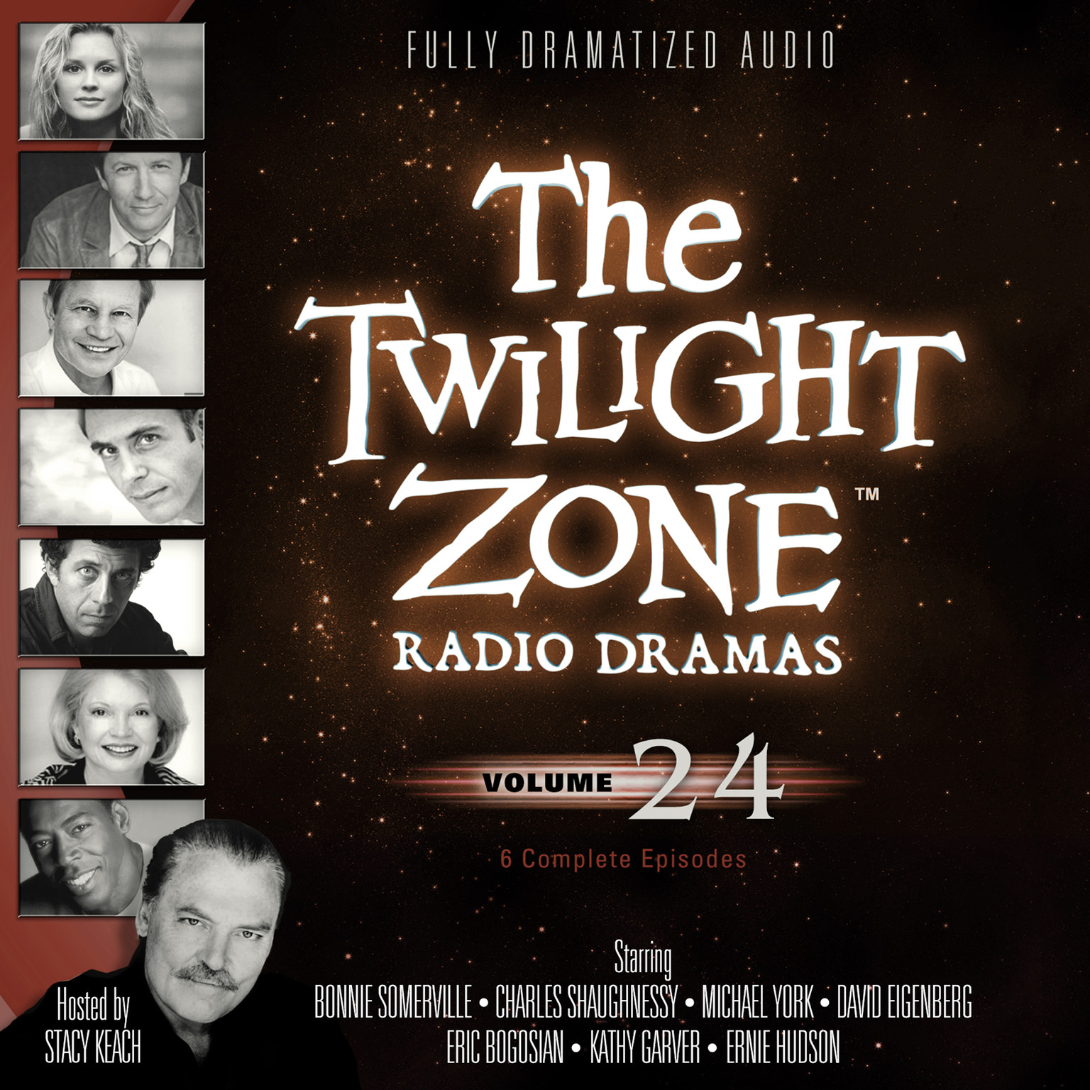 Printable The Twilight Zone Radio Dramas, Vol. 24 Audiobook Cover Art