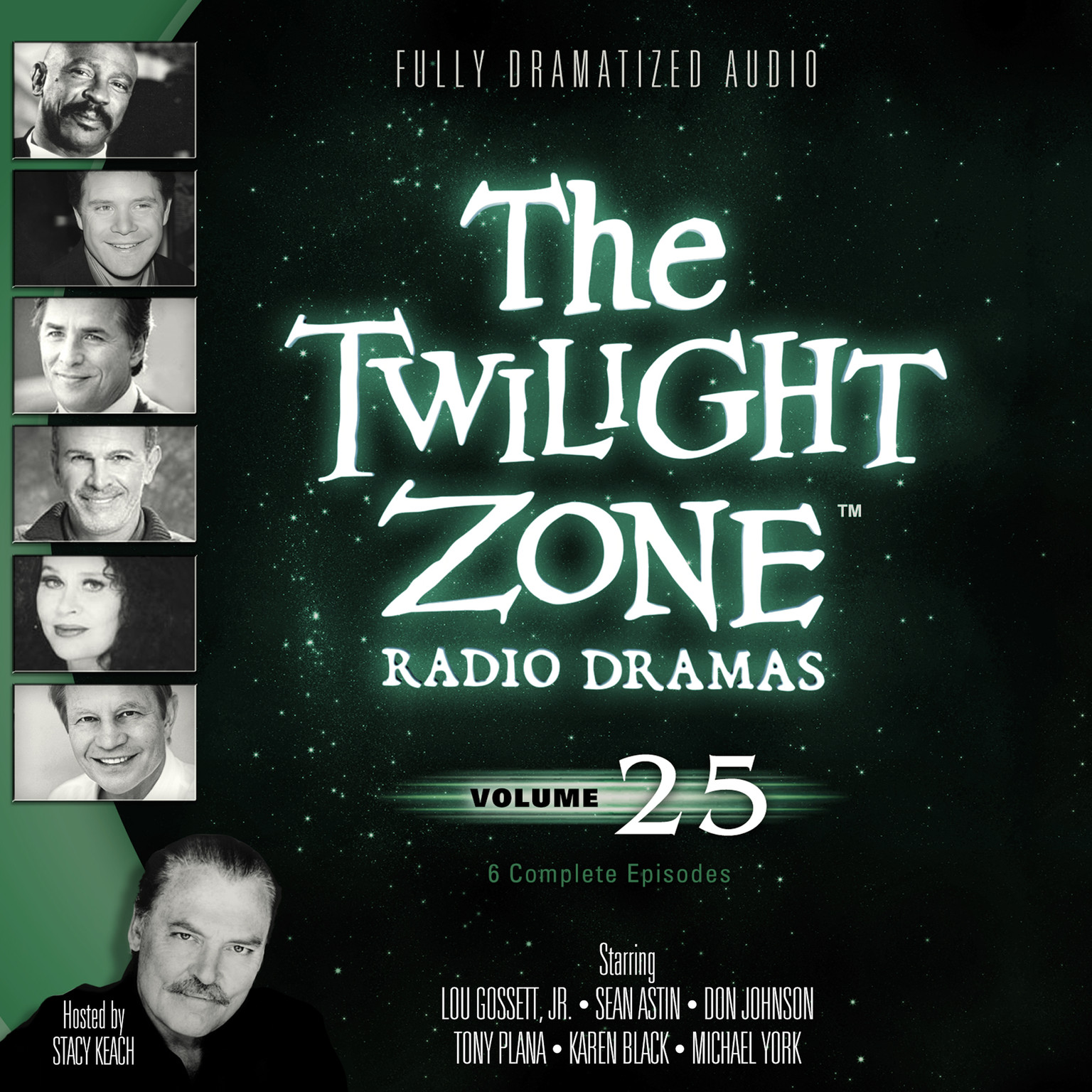 Printable The Twilight Zone Radio Dramas, Vol. 25 Audiobook Cover Art
