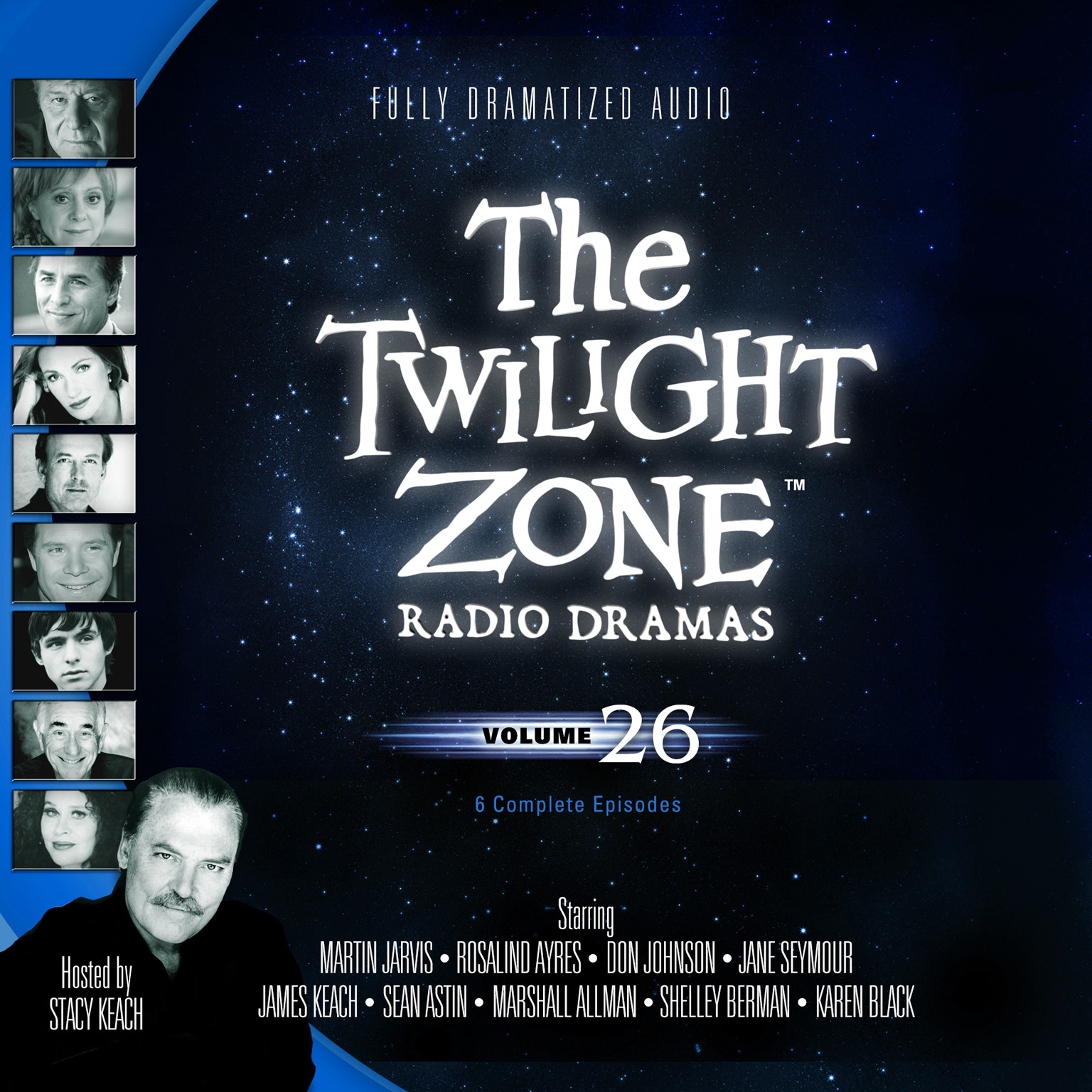Printable The Twilight Zone Radio Dramas, Vol. 26 Audiobook Cover Art