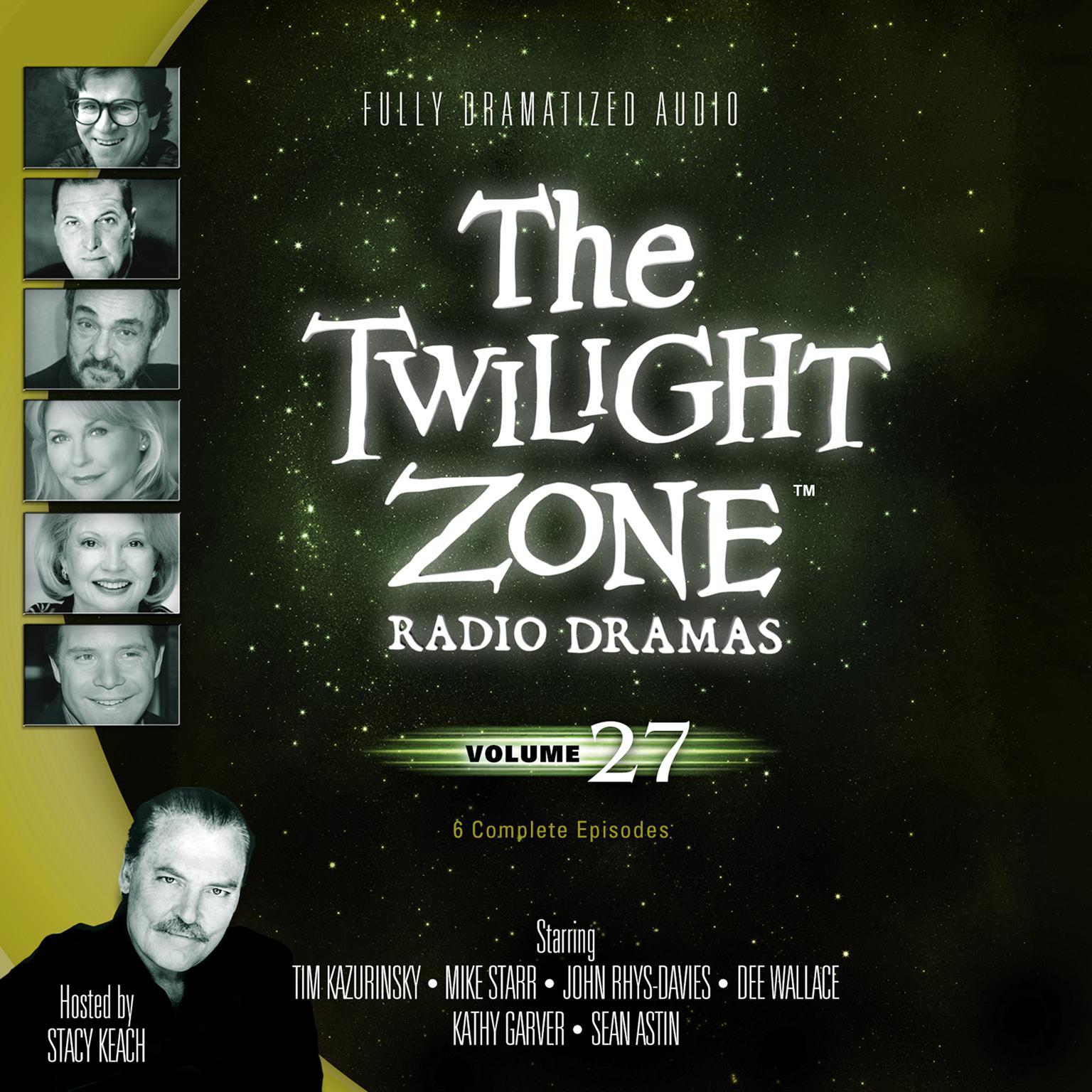Printable The Twilight Zone Radio Dramas, Vol. 27 Audiobook Cover Art