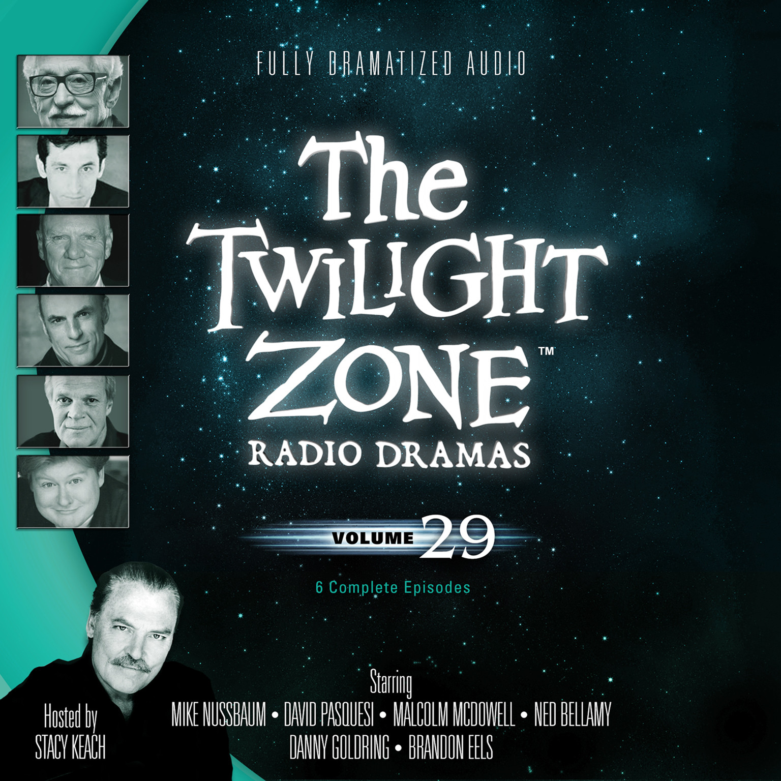 Printable The Twilight Zone Radio Dramas, Vol. 29 Audiobook Cover Art