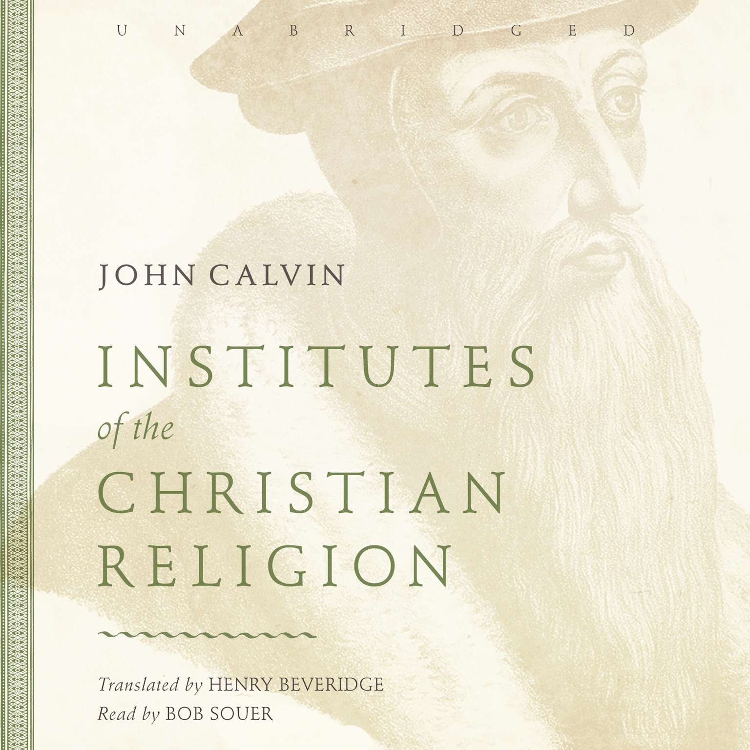 Printable Institutes of the Christian Religion Audiobook Cover Art