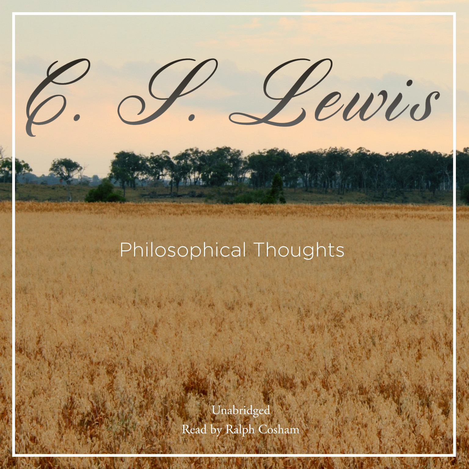 Printable Philosophical Thoughts Audiobook Cover Art