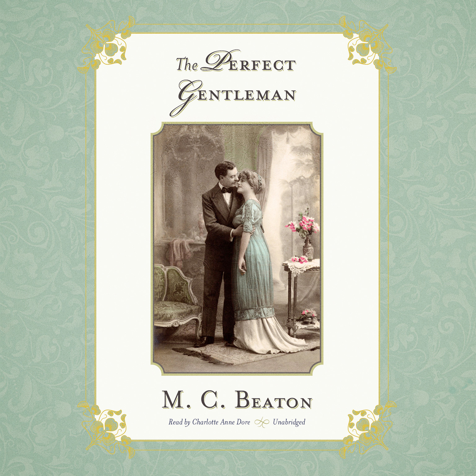 Printable The Perfect Gentleman Audiobook Cover Art