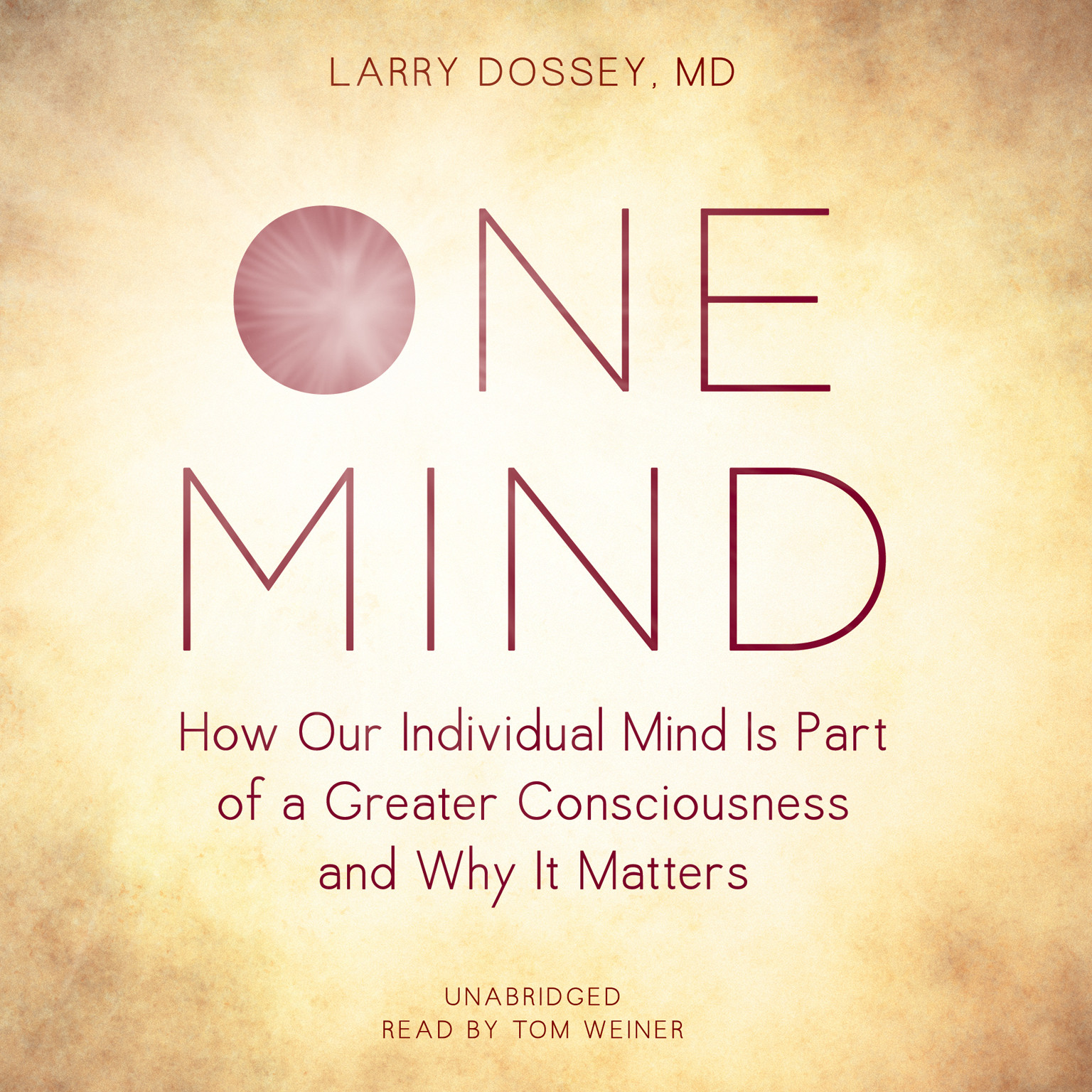 Printable One Mind: How Our Individual Mind Is Part of a Greater Consciousness and Why It Matters Audiobook Cover Art