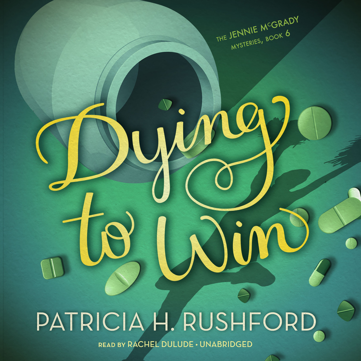 Printable Dying to Win Audiobook Cover Art
